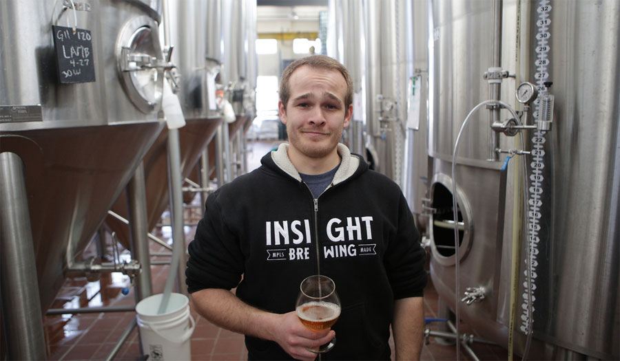 Head Brewer Ilan insight brewing