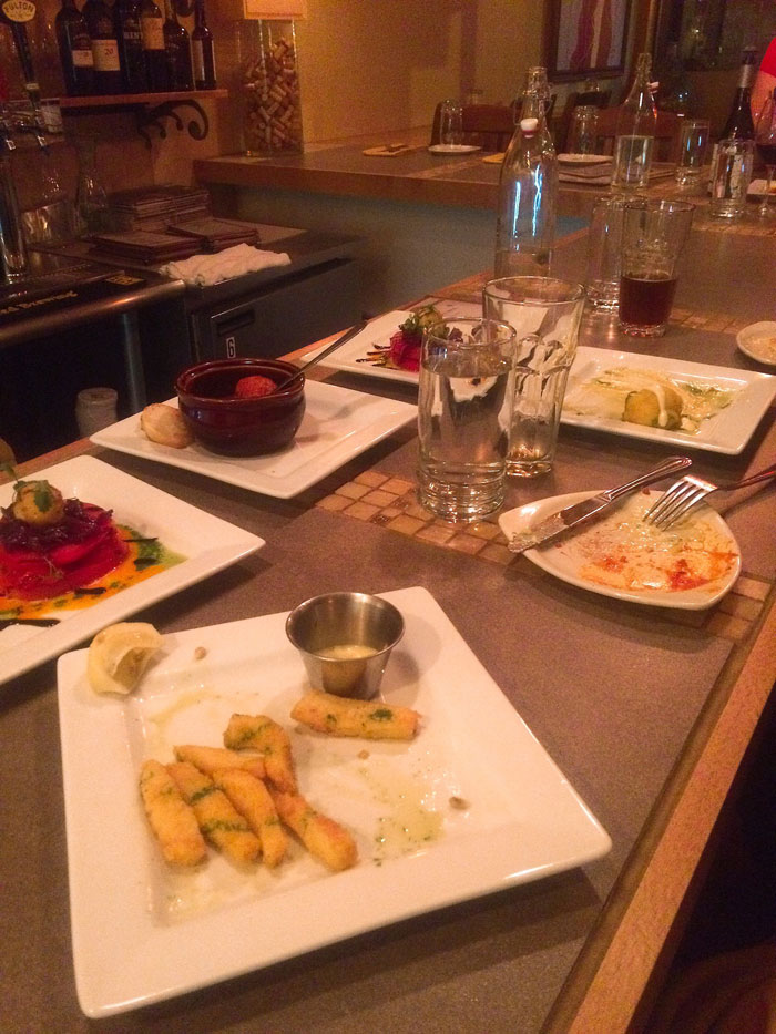 all appetizers at Rincon 38