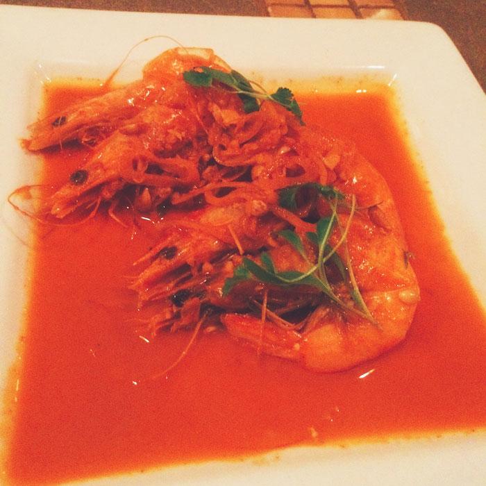 rincon 38 happy hour shrimp