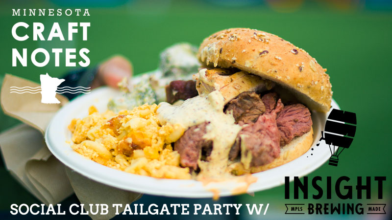 Insight Brewing tailgate party ne mpls