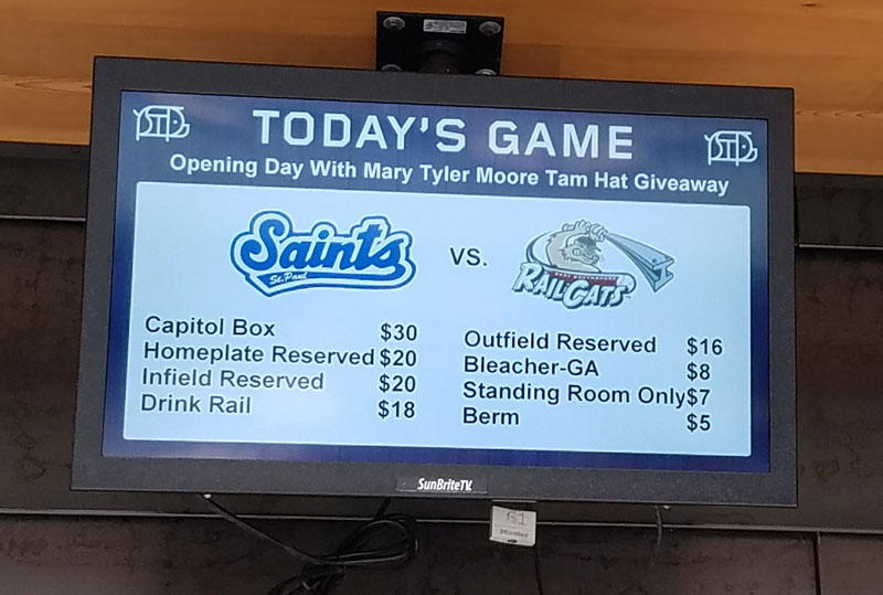 st paul saints tickets