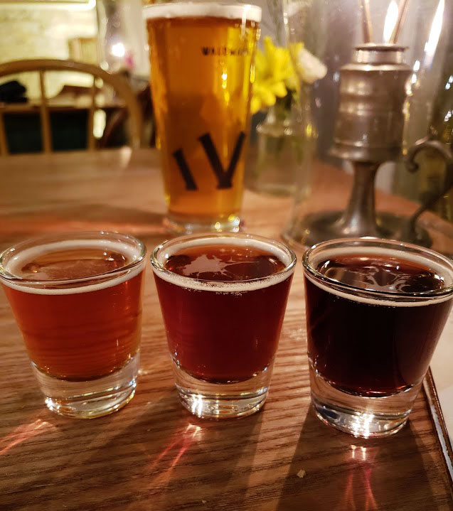 waldmann brewery beer flight