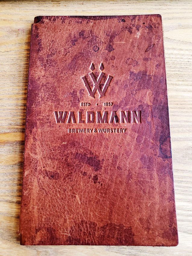 waldmann brewery food menu