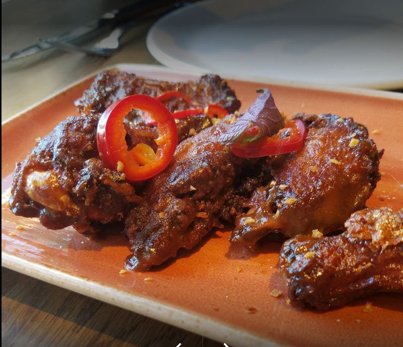 gray duck tavern chicken wings